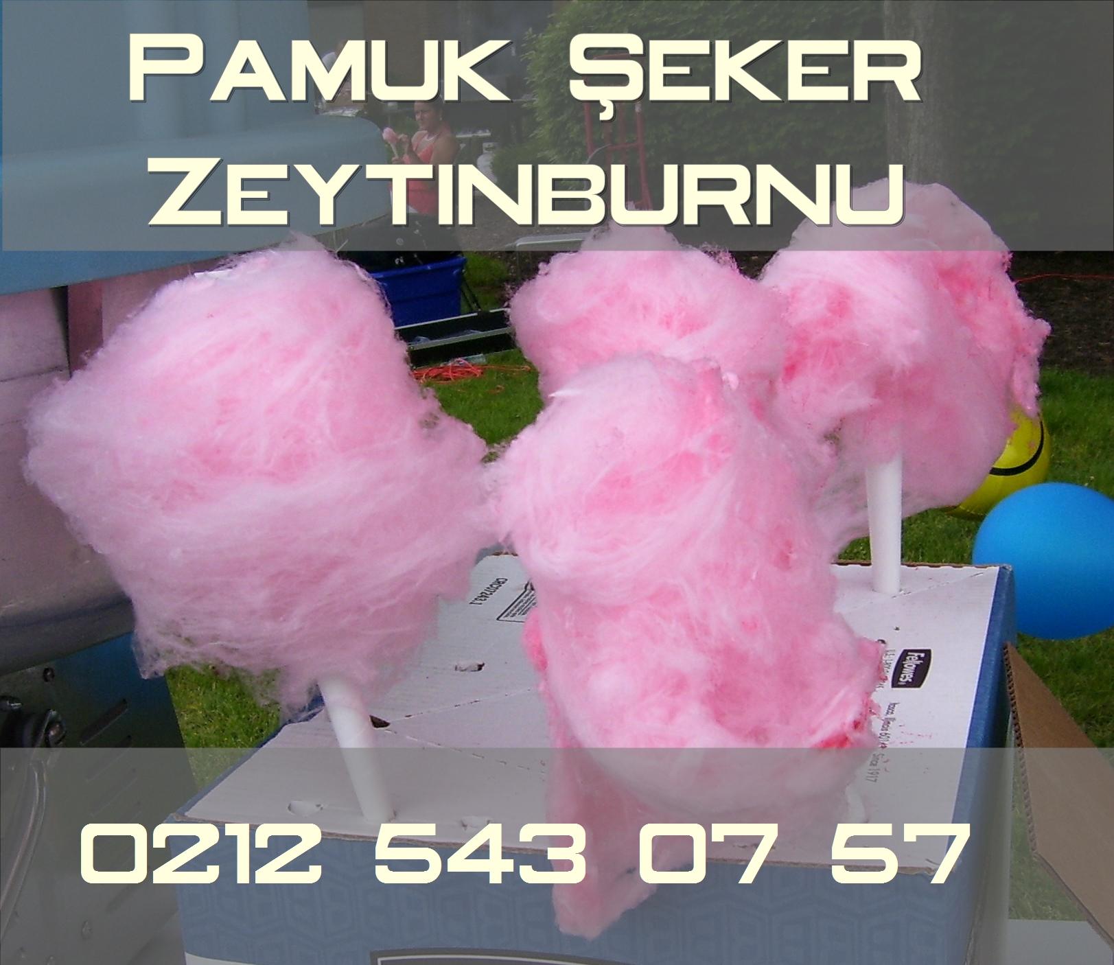 Zeytinburnu pamuk şekeri